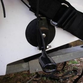 Suport sonda sonar portabil cu ventuza Lowrance
