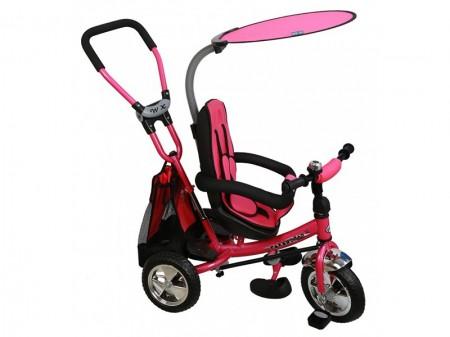 Poze Tricicleta copii cu Scaun Reversibil Baby Mix Safari WS611 Pink
