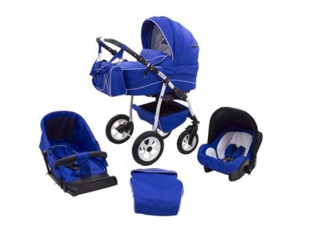 Poze Carucior copii 3 in 1 MyKids Germany Blue Regal