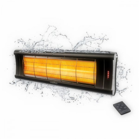 Lampa infrarosu/panou radiant VEITO AERO S 2500w Carbon, cu Telecomanda
