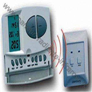 Termostat electronic wireless programabil 8A