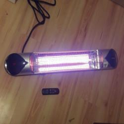 Lampa infrarosu/panou radiant DELEX IRC 2000w Carbon, cu Telecomanda