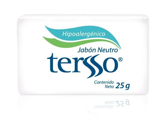 Tersso jab n neutro caja con 240 piezas de 25g for Jabon neutro para limpiar