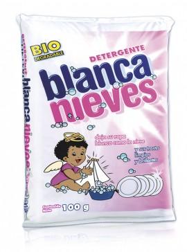 Blanca Nieves detergente en polvo / Caja con 100 bolsas de 100 g imágenes