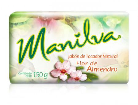 Manilva jabón natural / Caja con 40 piezas de 150g