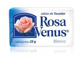 Rosa Venus blanco / Charola con 100 piezas de 25g