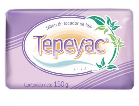 Tepeyac lila jabón de tocador de lujo / Caja con 40 piezas de 150g