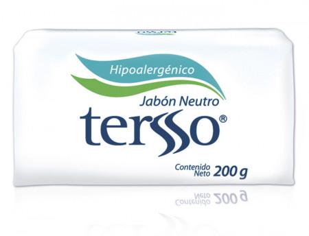 Tersso jabón neutro / Caja con 12 piezas de 200g
