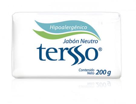 Tersso jabón neutro / Caja con 30 piezas de 200g