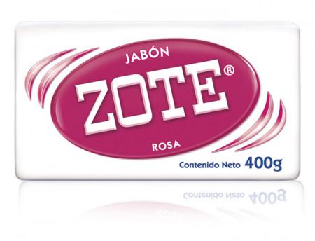 Zote Rosa / Caja con 25 piezas de 400g