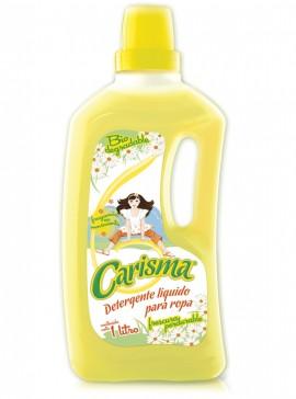 Carisma detergente líquido / Caja con 12 botellas de 1 Litro