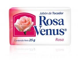 Rosa Venus rosa / Charola con 100 piezas de 25g