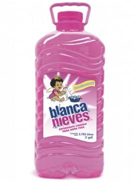 Blanca Nieves detergente líquido / Charola con 4 botellas de 1 Galón imágenes