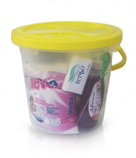 Cubeta con productos seleccionados / 8 productos