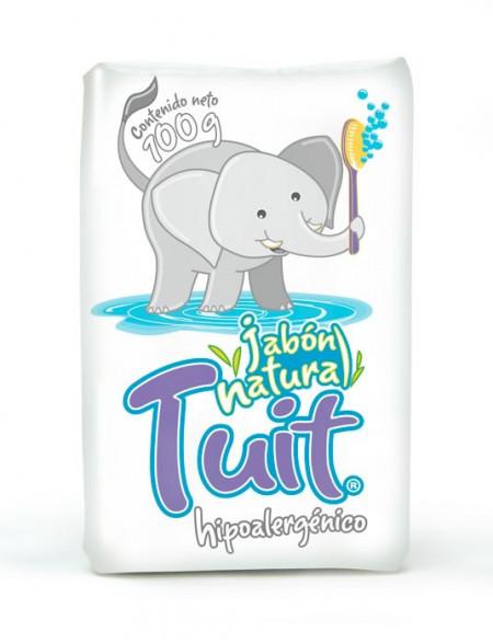 Tuit jabón natural / Caja con 60 piezas de 100g