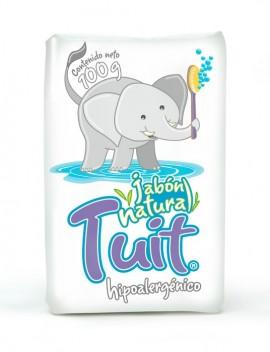 Tuit jabón natural / Charola con 16 piezas de 100g