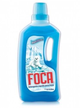 Foca detergente líquido / Caja con 12 botellas de 1 Litro imágenes
