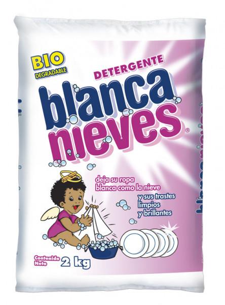 Blanca Nieves detergente en polvo / Caja con 10 bolsas de 2 kg