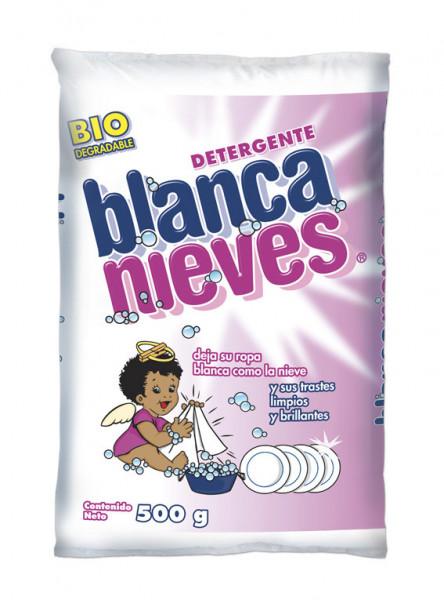 Blanca Nieves detergente en polvo / Caja con 20 bolsas de 500 g