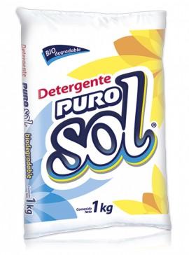 Puro Sol detergente en polvo / Caja con 10 bolsas de 1 kg