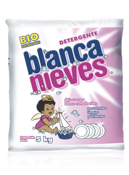 Blanca Nieves detergente en polvo / Caja con 4 bolsas de 5 kg