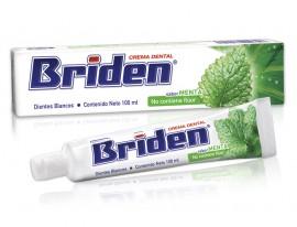 Briden crema dental SIN FLÚOR / Caja con 10 piezas de 100ml