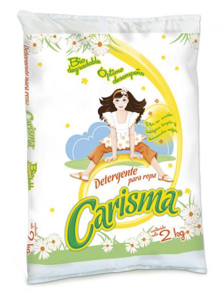 Carisma detergente en polvo / Caja con 10 bolsas de 2 kg