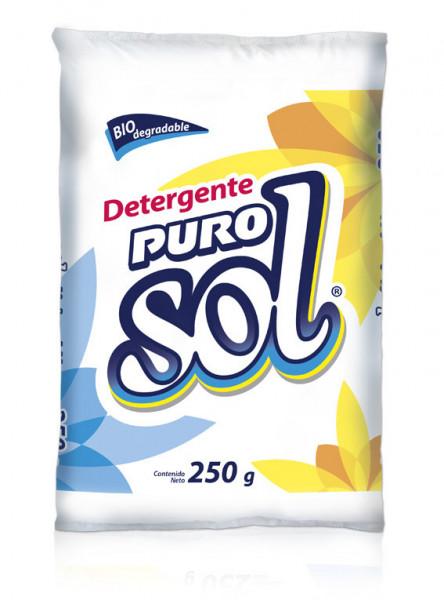 Puro Sol detergente en polvo / Caja con 20 bolsas de 250 g