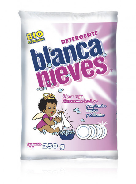 Blanca Nieves detergente en polvo / Caja con 40 bolsas de 250 g