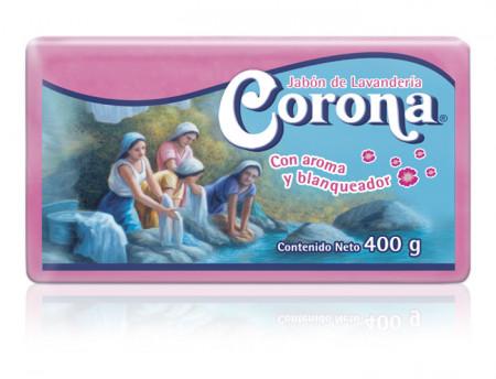 Corona Rosa con envoltura / Caja con 25 piezas de 400g