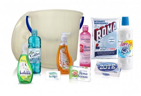 Cubeta (Kit de limpieza básica) / 16 productos.