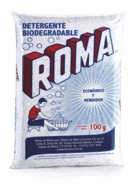 Roma detergente en polvo / Caja con 100 bolsas de 100g imágenes