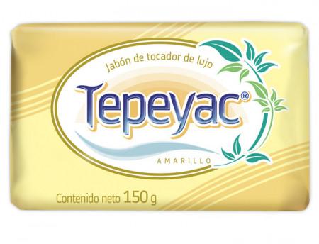 Tepeyac amarillo jabón de tocador de lujo / Caja con 40 piezas de 150g