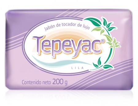 Tepeyac lila jabón de tocador de lujo / Caja con 30 piezas de 200g