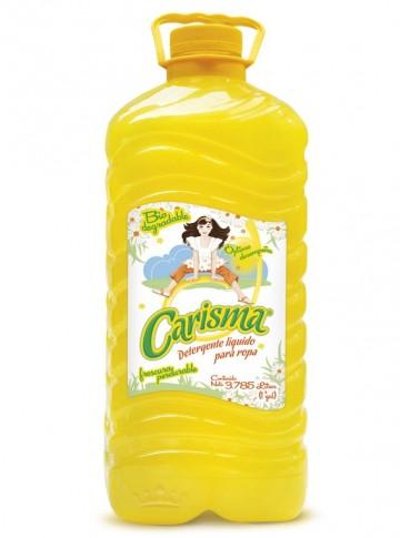 Carisma detergente líquido / Charola con 4 botellas de 1 Galón