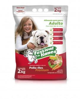 Festival de Kanes alimento para perro Adulto / Paquete de 5 bolsas de 2 kg imágenes