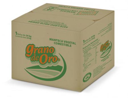 Grano de Oro Manteca Vegetal Comestible / 1 bolsa de 24 kg