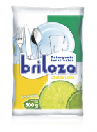 Briloza lavatrastes en polvo / Caja con 20 bolsas de 500 g