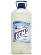 Roma detergente líquido / Charola con 4 botellas de 1 Galón