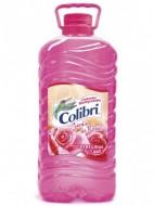 Colibrí limpiador líquido / Charola con 4 botellas de 1 Galón / Aroma Jardín de Rosas.