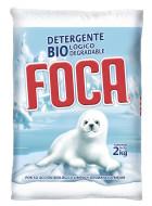 Foca detergente en polvo / Caja con 10 bolsas de 2 kg