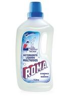 Roma detergente líquido / Caja con 12 botellas de 1 Litro