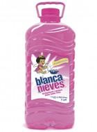 Blanca Nieves detergente líquido / Charola con 4 botellas de 1 Galón