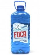 Foca detergente líquido / Charola con 4 botellas de 1 Galón