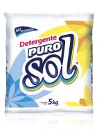 Puro Sol detergente en polvo / Caja con 4 bolsas de 5 kg