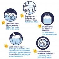 Purosol blanqueador desinfectante / Caja con 12 botellas de 1 Litro