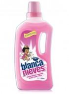 Blanca Nieves detergente líquido / Caja con 12 botellas de 1 Litro