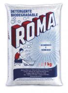 Roma detergente en polvo / Caja con 10 bolsas de 1 kg