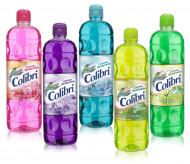 Colibrí limpiador líquido / Caja con 12 botellas de 1 Litro / Surtido de aromas.