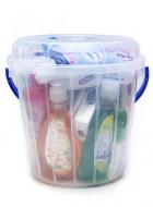 Cubeta (Kit de limpieza básica) / 16 productos (Por lanzamiento, sólo para CDMX y Área Metropolitana)